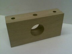 Hardwood oak bearings